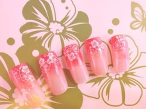 花柄ネイル(桜)